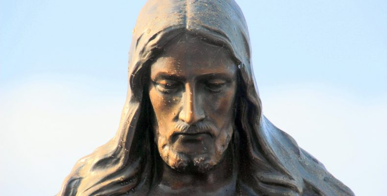 Jesus Christ, in stone. Fraser Watts writes about Jesus and Christian belief.