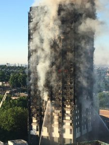 anger at the Grenfell Tower fire